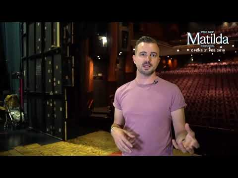 Matilda The Musical - Backstage Tour