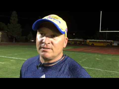 Bakersfield football coach Paul Golla: 94-22 career record, 4 section titles, 1 state title