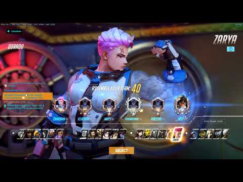 45% Avg Energy and the Worst D.Va ults. Grand Master Zarya Main. Dorado