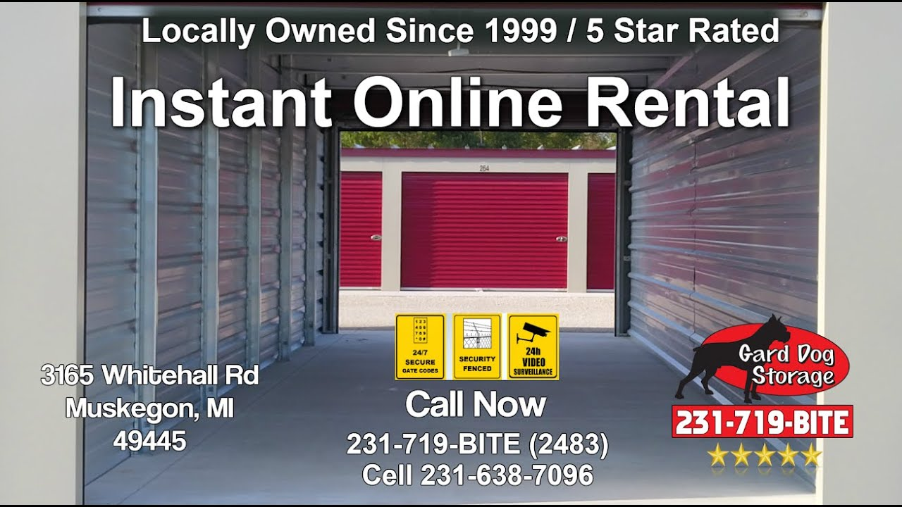 Muskegon Self Storage Units Near Me Cheap Prices - Storage ...