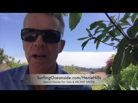 OCEANSIDE HOMES FOR SALE HENIE HILLS- El Camino Country Club Golf Homes