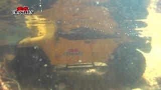 Underwater raw clips SCX10 RC4WD RCModelex Defender 110 Land Cruiser RC offroad adventures