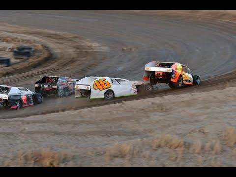 Desert Thunder Raceway I.M.C.A Modified Heat Races 4/14/18