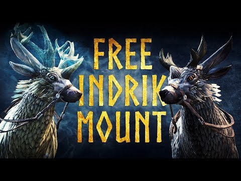 ESO Indrik Mount Guide - Get for FREE the Nascent Indrik Mount & Dawnwood Indrik Mount