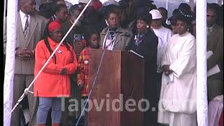 Winnie Mandela Speaks To African Americans 10 25 97