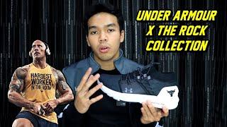 Sepatu The Rock Wwe Seharga 2.5 Juta Saja! | Under Armour X The Rock Collection