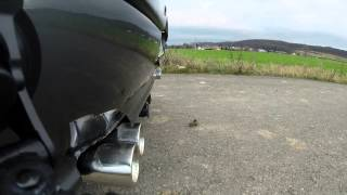 peugeot 406 3 0 v6 sound exhaust video from gopro