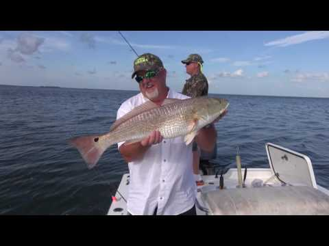 TOMMY WILCOX OUTDOORS LOUISIANA PORT EADS BULL RED FISHING