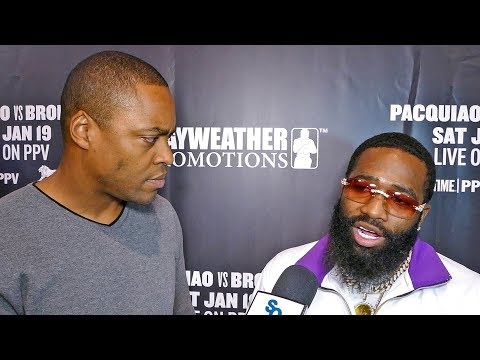 """Adrien Broner Gets REAL About """"DEFINING FIGHT"""" vs Manny Pacquiao"""