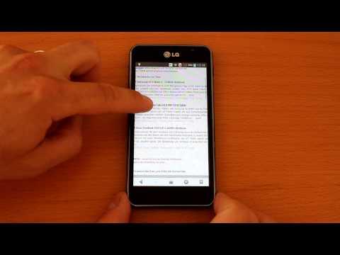 Testvideo LG P875 Optimus F5