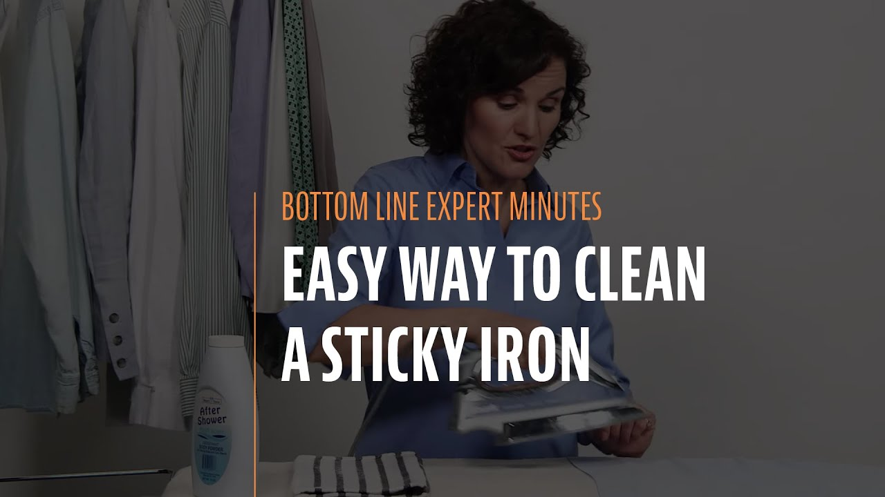 See how to clean an iron quickly and easily 34