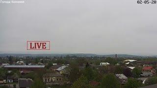 Live Stream - Погода в Коломиї, Україна, (Kolomyya/Ukraine). PTZ HD weather camera