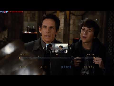 Download Night at the Museum 3: Secret of the Tomb (2014) Blu-ray™ Disc | Main Menu | Menu Walkthrough