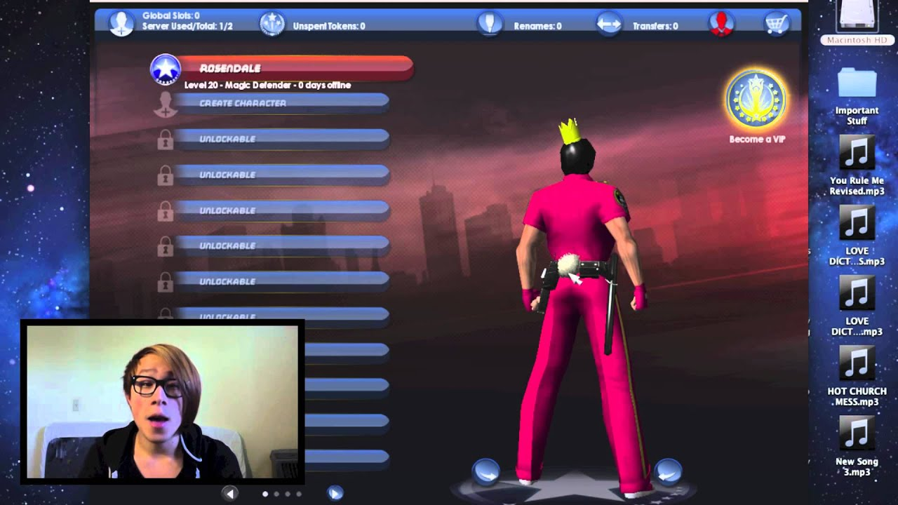 FREE MAC MMORPG?! City of Heroes Gameplay and Review
