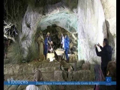 Primo Presepe Vivente ambientato nelle Grotte di Zungri