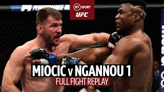 Stipe Miocic v Francis Ngannou 1 | UFC Full-Fight Replay