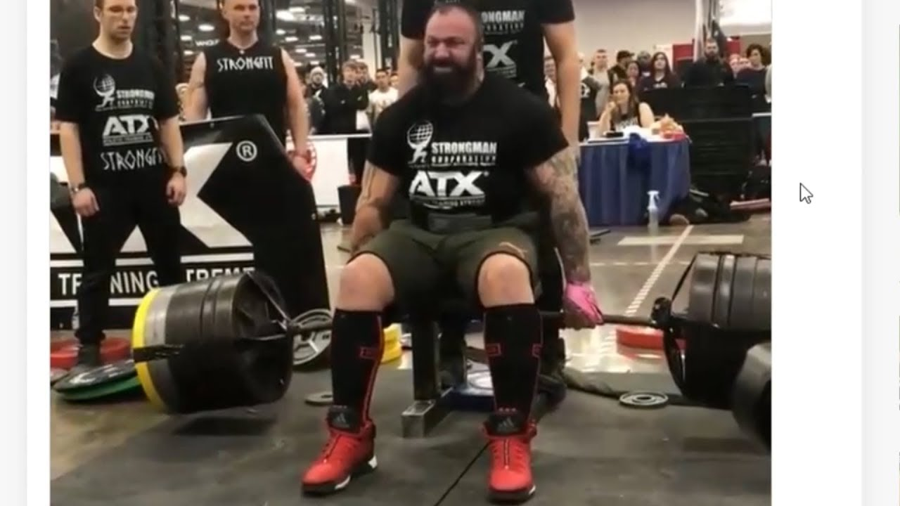 Deadlift World Record 501kg set by Martin Tye - Arnold Classic 2019