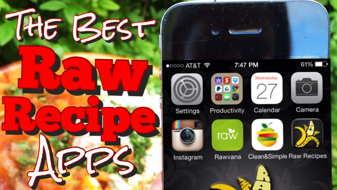 The best raw food recipe apps youtube forumfinder Choice Image