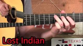 Guitar Flatpick Solo for Lost Indian- Doc Watson Tribute!