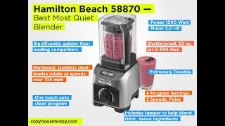Hamilton Beach 58870 Review – …