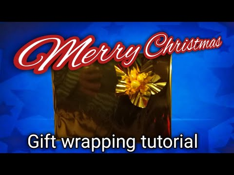 GIFT WRAPPING TUTORIAL For Holiday Season /mercedes Vills