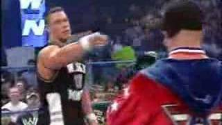 WWE Smackdown!: John Cena and Kurt Angle in a Battle Rap