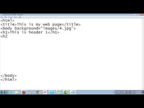 Second Class Of HTML About Headings
