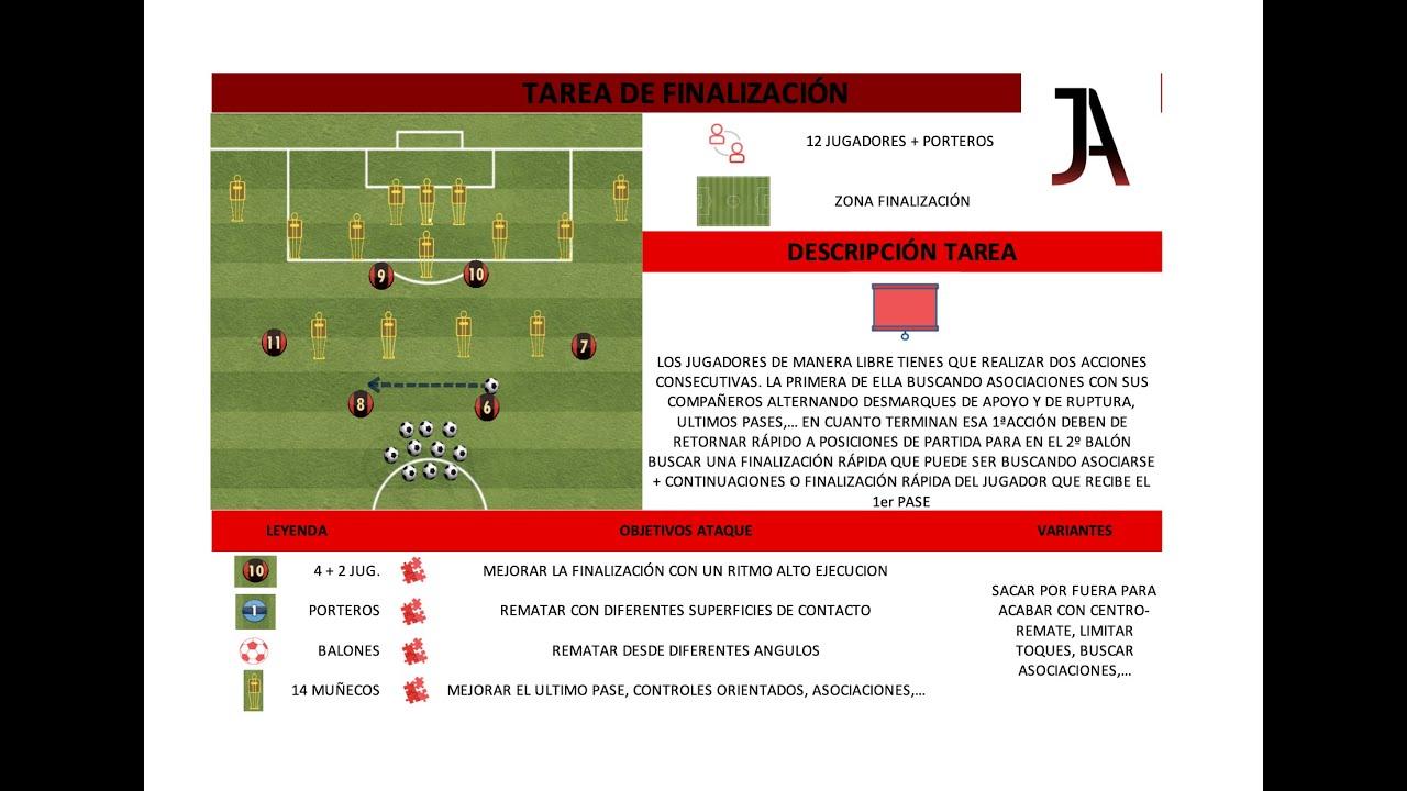 Tarea de finalización Fútbol