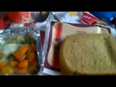 Breakfast in 12014  Amritsar-New Delhi ASR shatabdi Express . Veg and Non-Veg