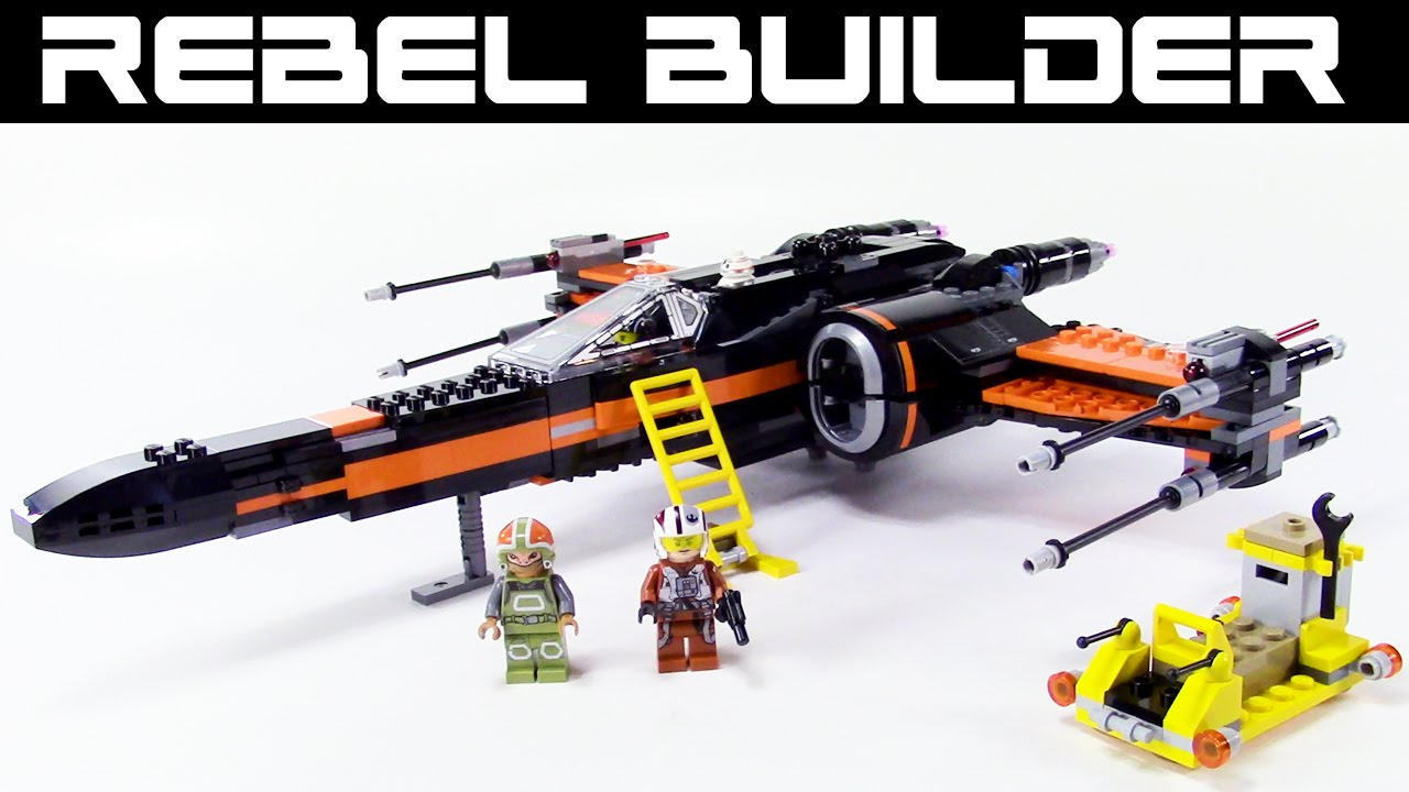 Lego star wars poe s x wing fighter review 75102 youtube - Lego Star Wars Poe S X Wing Fighter Review Set 75102