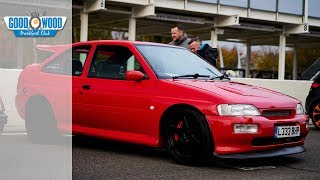 The Ford Escort Cosworth is a