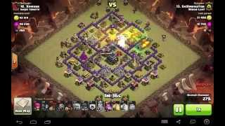 Clash of Clans | LoGoHog TH9 | Clan Wars 3 Star - Diamond Moat 2