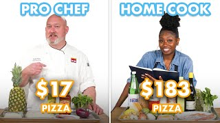 $183 vs $17 Pizza: Pro Chef &amp Home Cook Swap Ingredients  Epicurious