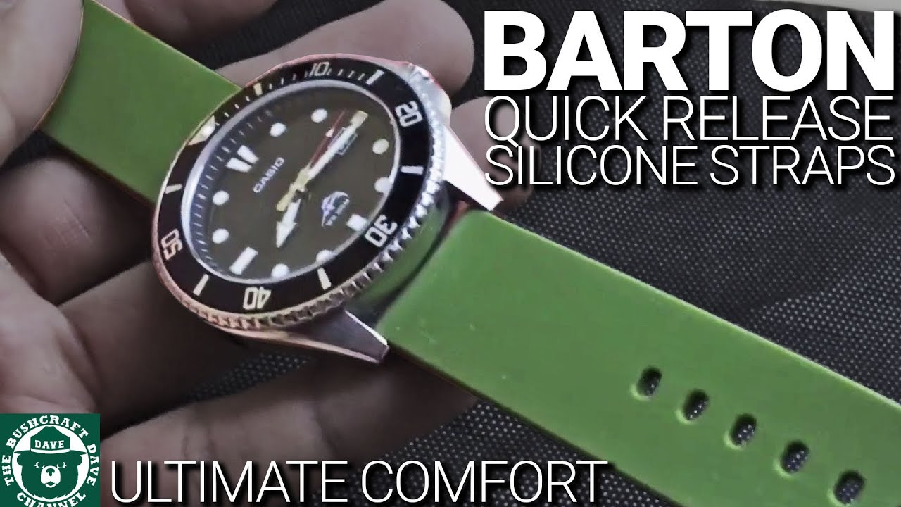 Barton Silicone Quick Release Watch Bands Huge Upgrade