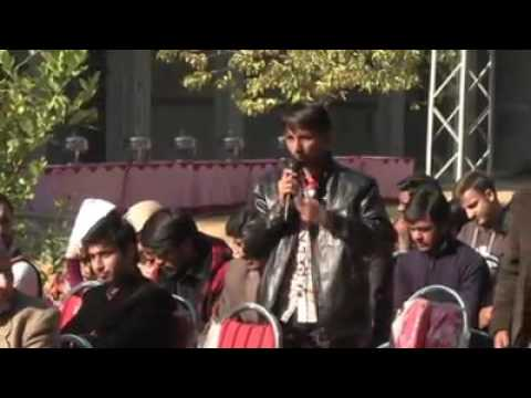 Very tough question by a QAU-Islamabad's student to Farhat U