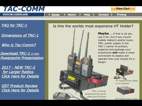 TacComm TRC 1 Review