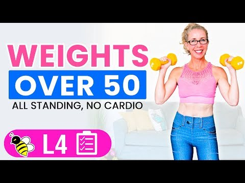 30 Minute WEIGHTS Workout For Women Over 50