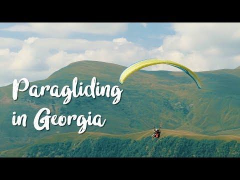 PARAGLIDING IN GEORGIA 🇬🇪 - near Kazbegi & Gudauri