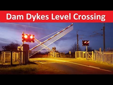 Dam Dykes Level Crossing - East Coast Main Line - Cramlington, Northumberland