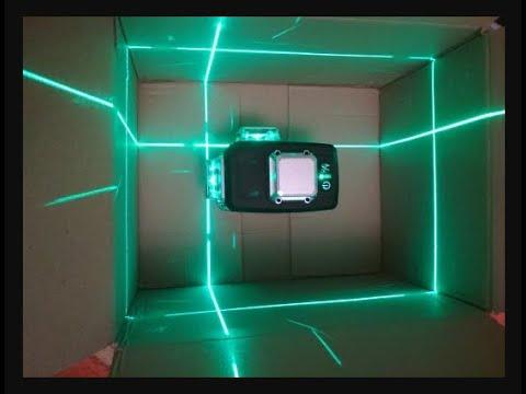 Офигенный лазерный нивелир с тремя плоскостями