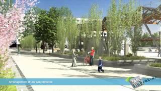 VILLE d'ANNEMASSE - Une nouvelle place de la Libération en 2012 - Réalisation LIMPID NOVAMOTION
