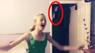 10 CREEPY Ghost Sightings Caught on Tape thumbnail
