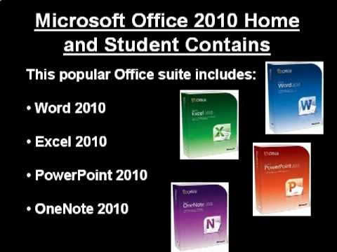 Discount price microsoft office 2010 home and student