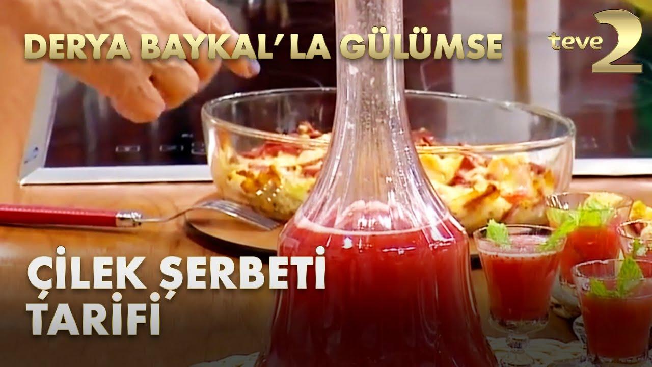 Derya Baykal'la Gülümse: Çilek Şerbeti Tarifi