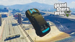 RAMP OF STEEL! (GTA 5 Funny Moments)