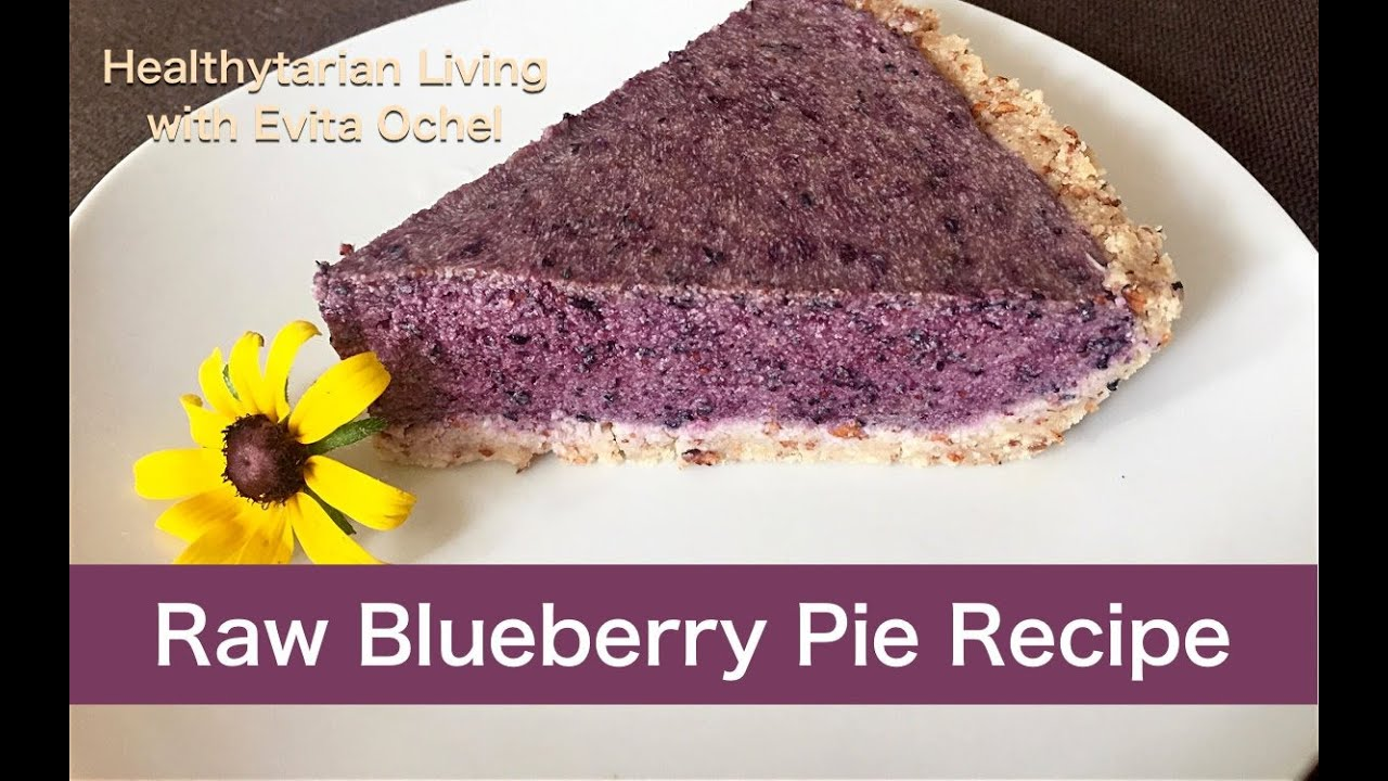 Raw blueberry pie recipe whole food vegan oil free youtube raw blueberry pie recipe whole food vegan oil free forumfinder Images