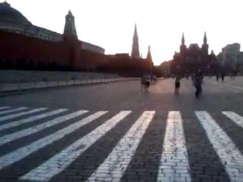 Наше путешествие по Европе! Москва . Красная Площадь.
