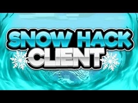 Minecraft PE: Snow Hack Client B21 (Review)