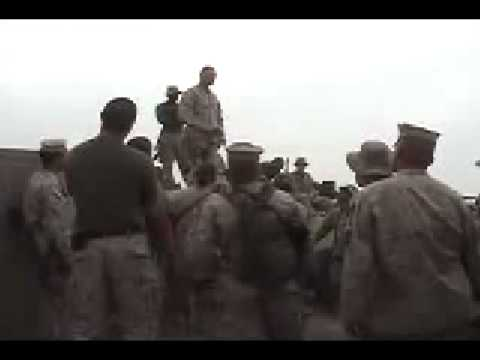 Marines of Camp Fallujah Relaxing