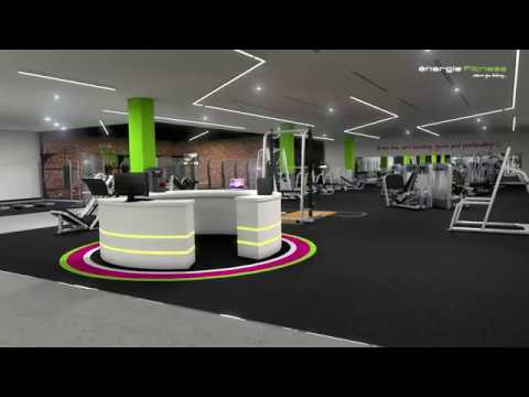 énergie Fitness Bahrain - Flythrough Animation